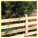4 Rail Horse & Farm Fence