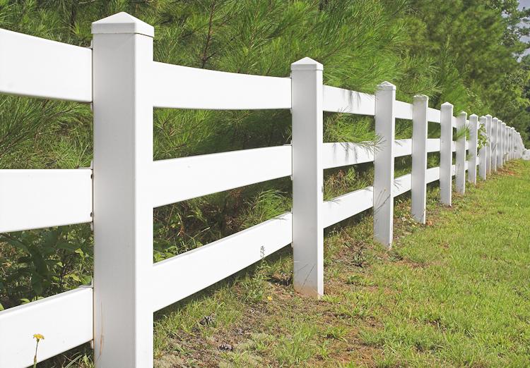 Akridge fence pvc vinyl picket gates